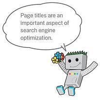 page title search engine optimization