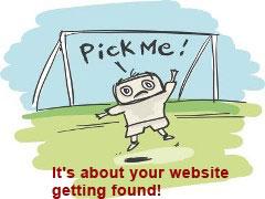get my website found