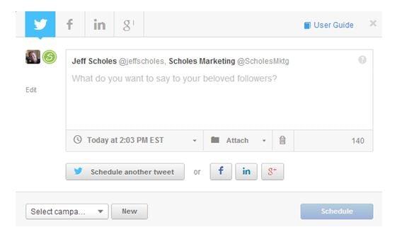 Social Inbox Scheduling