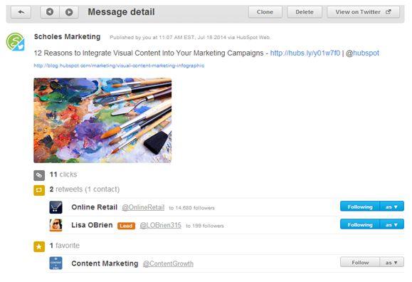 Social Inbox Message Detail