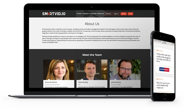 Smartvid.io website