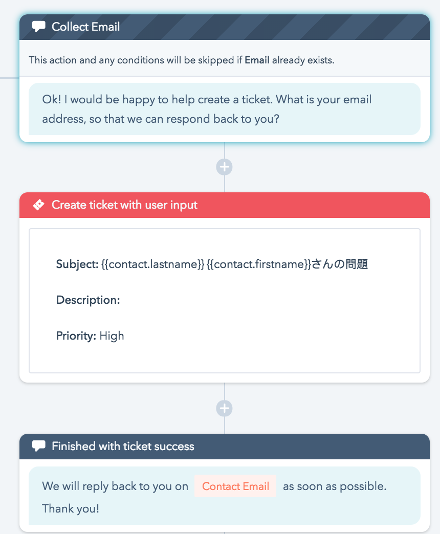 example HubSpot bot