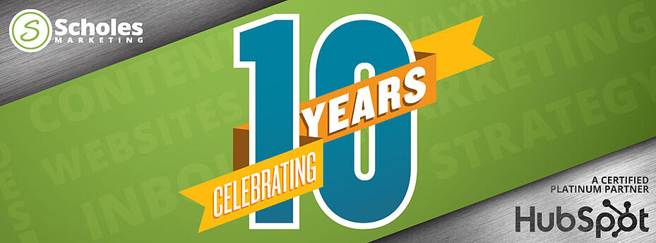 Scholes Marketing Celebrates 10-Year Anniversary